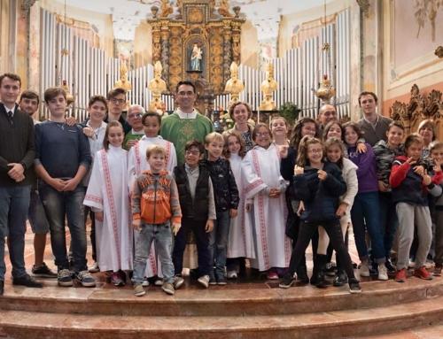Festa di inizio anno catechistico e oratorio