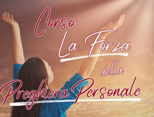 """Corso """"La forza della preghiera personale"""" a Torino"""
